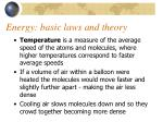 energy basic laws and theory4