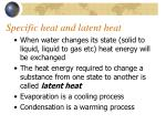 specific heat and latent heat2