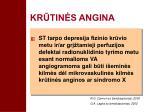 kr tin s angina