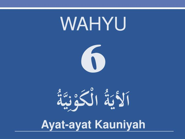 WAHYU
