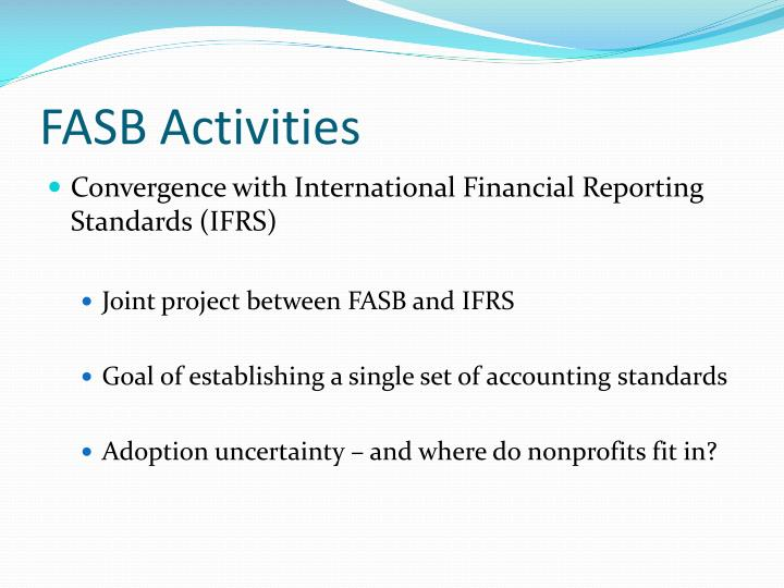 FASB Activities