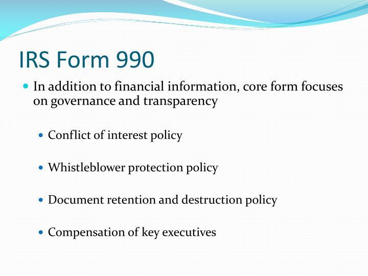 IRS Form 990