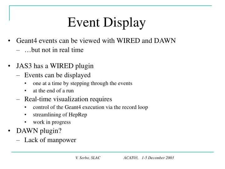 Event Display