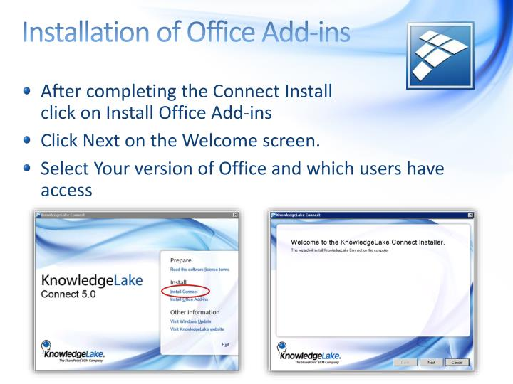 Installation of Office Add-ins