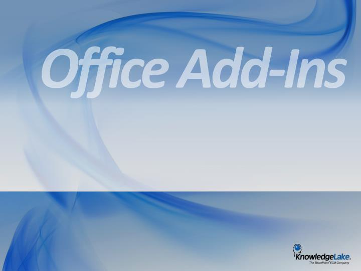 Office Add-Ins