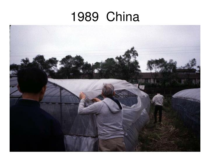 1989  China