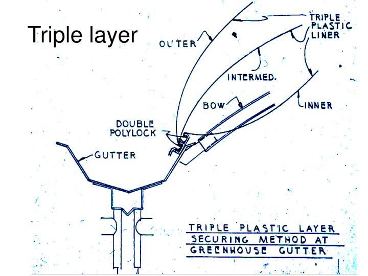 Triple layer