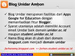 blog unidar ambon