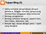 tujuan blog 2