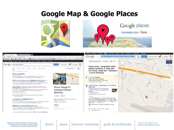 Google Map & Google Places