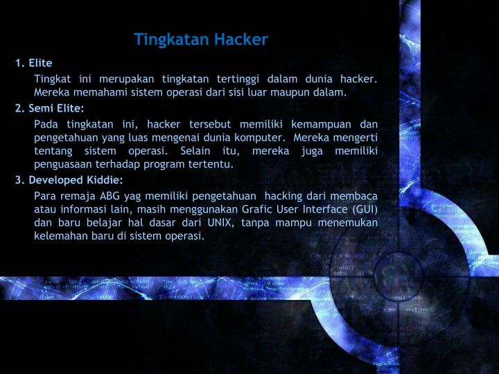 Tingkatan Hacker