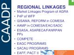 regional linkages