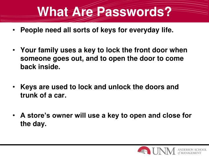 What are passwords1