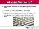 what are passwords4