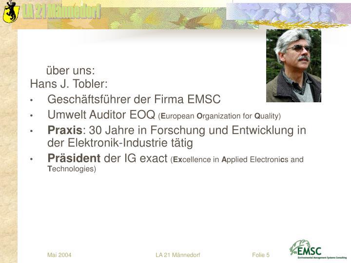 Hans J. Tobler: