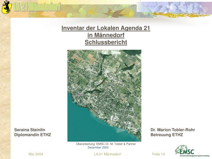Inventar der Lokalen Agenda 21