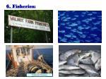 6 fisheries