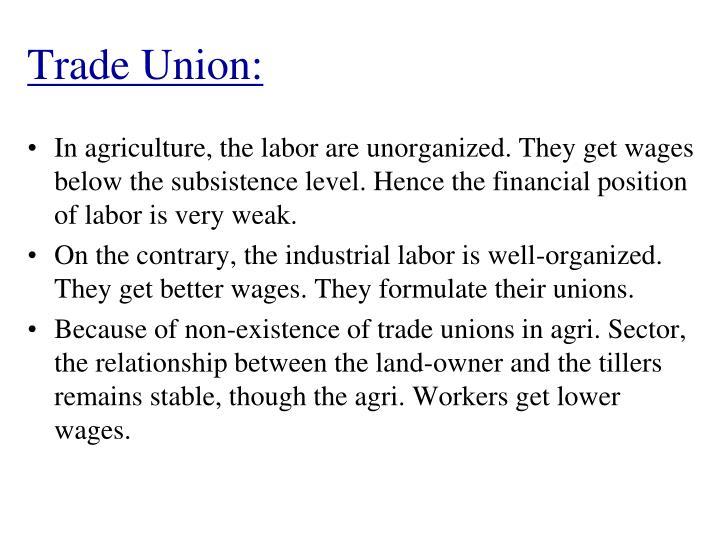 Trade Union:
