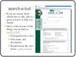 search a bull