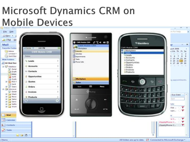 Microsoft Dynamics CRM on Mobile Devices