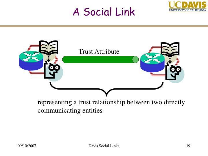 A Social Link