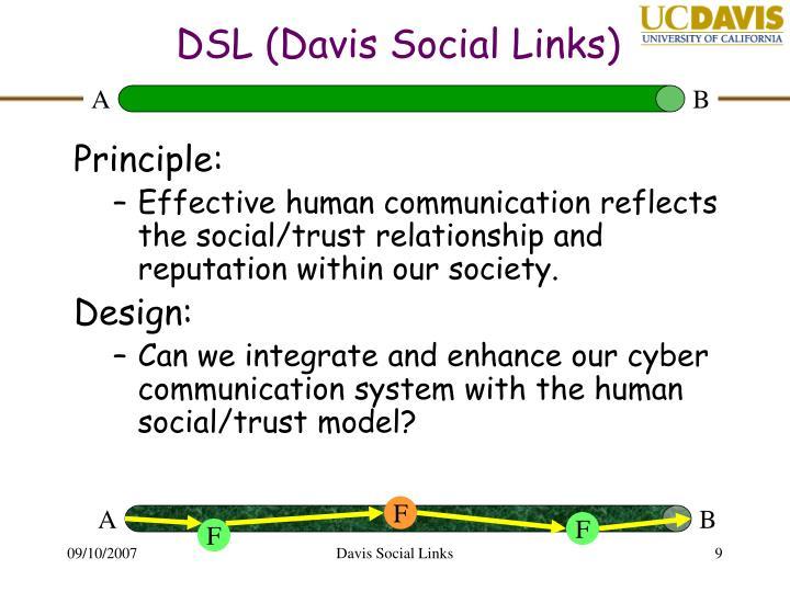 DSL (Davis Social Links)