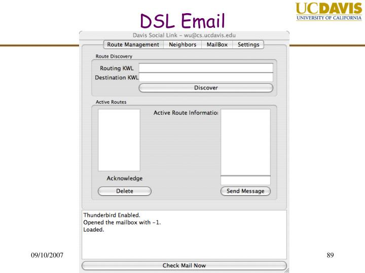 DSL Email