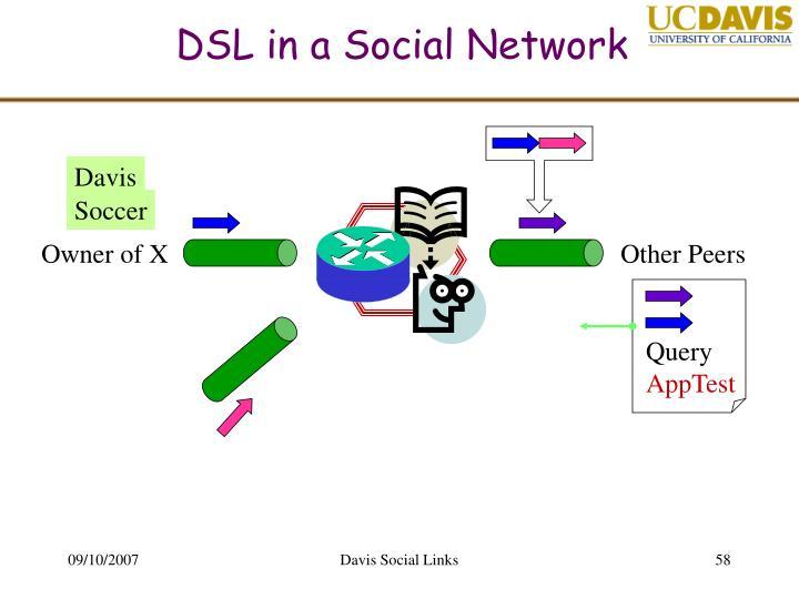 DSL in a Social Network