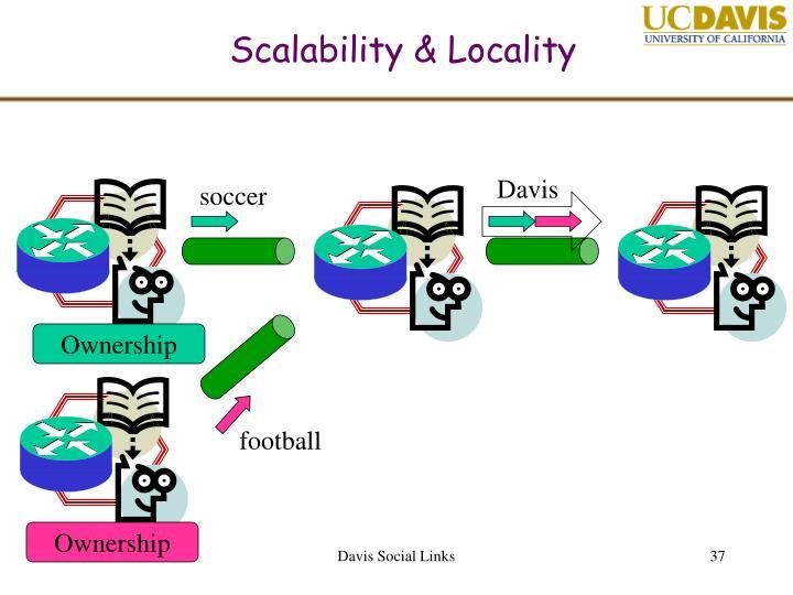 Scalability & Locality
