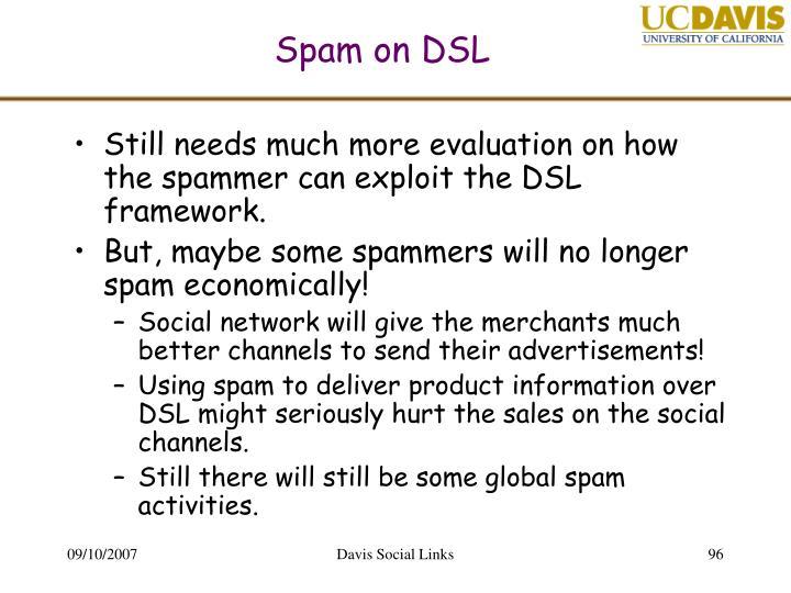 Spam on DSL