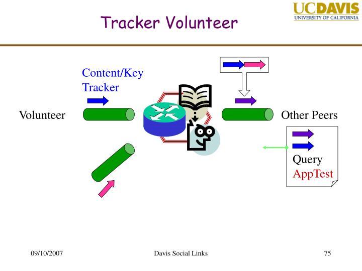 Tracker Volunteer