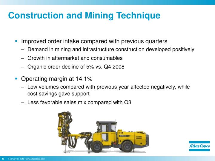 Construction and Mining Technique