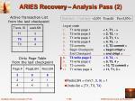 aries recovery analysis pass 2