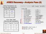aries recovery analysis pass 5