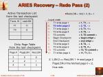 aries recovery redo pass 2
