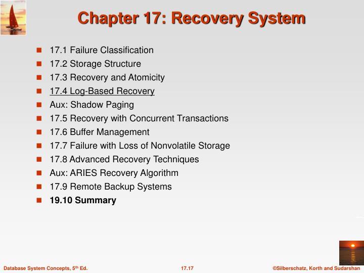 17.1 Failure Classification