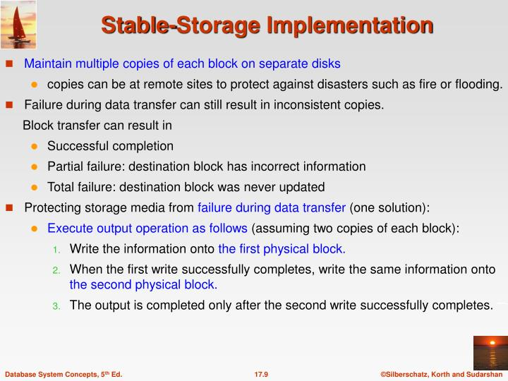Maintain multiple copies of each block on separate disks