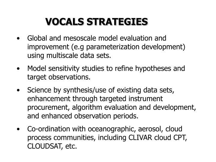 VOCALS STRATEGIES