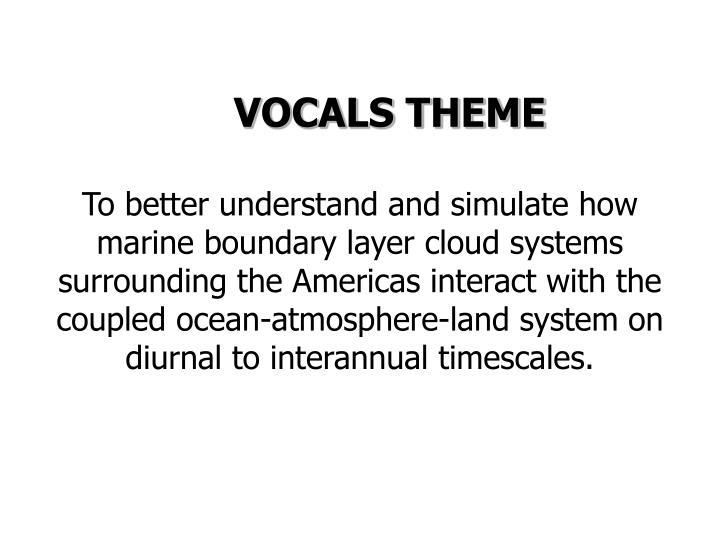 VOCALS THEME