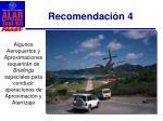 recomendaci n 42