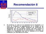 recomendaci n 8