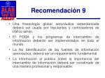 recomendaci n 91
