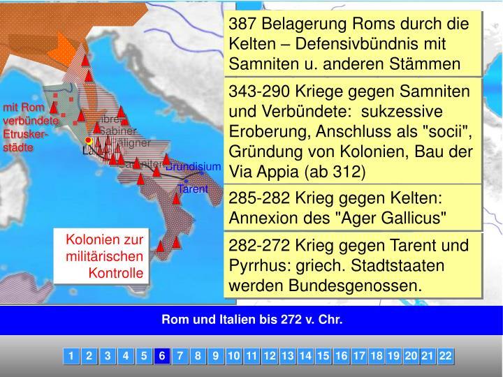 mit Rom verbündete Etrusker-städte