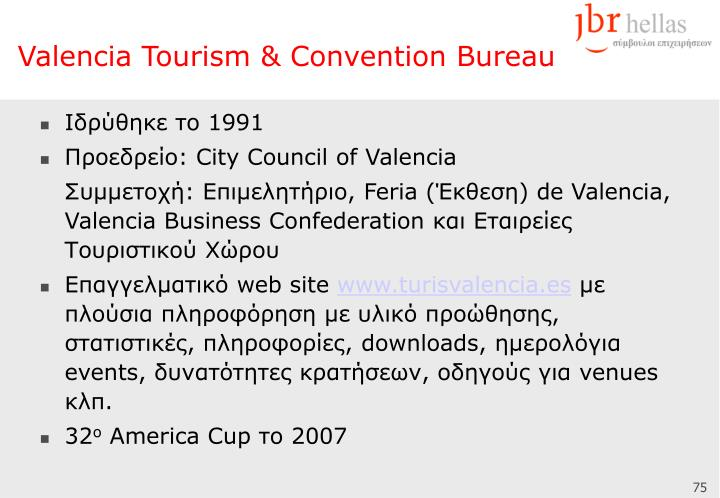 Valencia Tourism & Convention Bureau