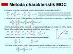 metoda charakteristik moc1