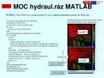 moc hydraul r z matlab2