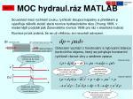 moc hydraul r z matlab4
