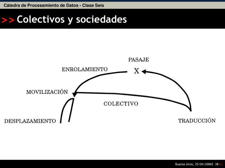 Colectivos y sociedades