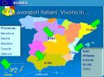 lavoratori italiani vivono in