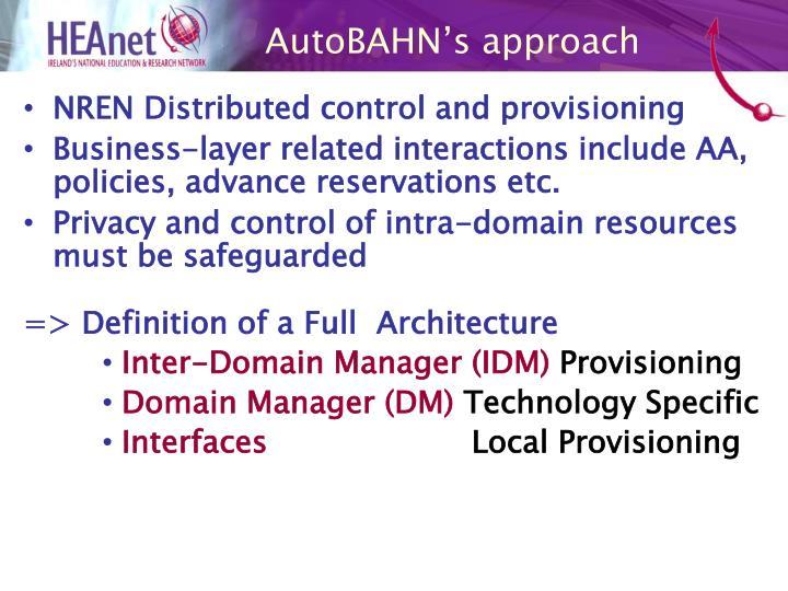 AutoBAHN's approach